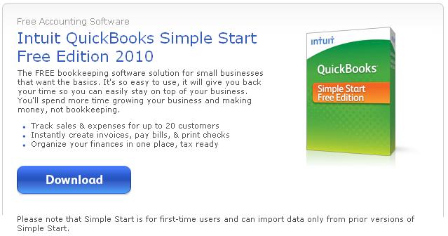 Programa de Contabilidad Quickbooks Gratis para tu Pequeño