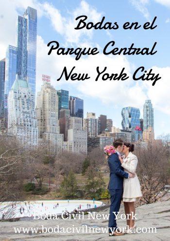 Paquetes de Bodas en el Parque Central - New York City Boda Civil